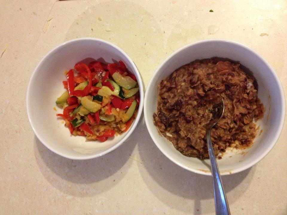 thermomix-sauteed-vegetables-refried-beans
